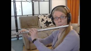Jurassic Park Theme, flute cover