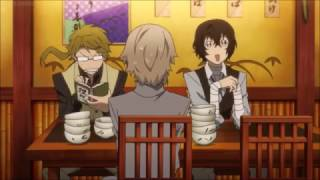 Bungou Stray Dogs funny moment S1 EP1