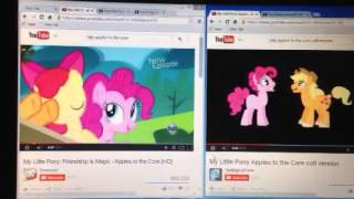 MLP:FIM and MLP:FIM (Colt Version): Apples To The Core.