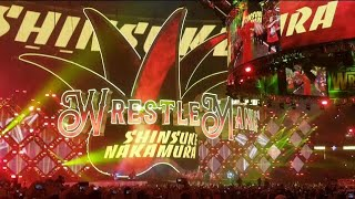 Shinsuke Nakamura Wrestlemania 34 Live Entrance From New Orleans