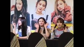 PRISTIN KYULKYUNG diff hand Hearteu's
