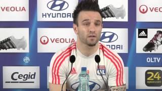 Mathieu Valbuena s'embrouille avec les journalistes lyonnais