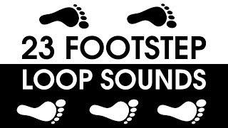 23 FOOTSTEPS Looping Sound Pack [FREE DOWNLOAD]
