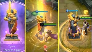 Tigreal Summon Sacred Statue (Fearless Spirit), Worth It..? - Mobile Legends