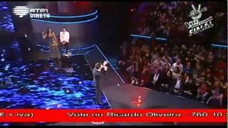 "A Voz de Portugal - Final - Ricardo Oliveira - ""How am i supposed to live without you"""