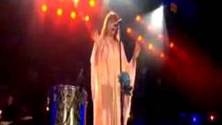 Florence + the Machine - Drumming Song - live at the Isle of Wight Festival