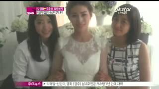 생방송 스타뉴스 - [Y-STAR] Kim Junghwa got married with CCM singer (김정화, CCM가수 유은성과 비공개 결혼 '깜짝 포착')