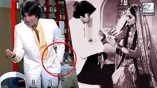 Secret Behind Amitabh Bachchan's Famous Action From Sharabi Movie width=