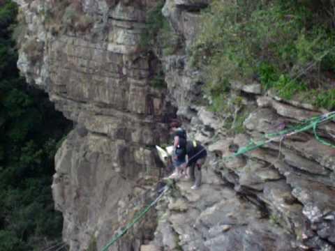Nats Gorge Swing. Oribi, South Africa