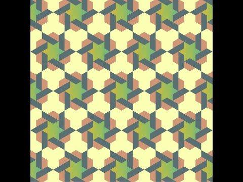 伊斯蘭的幾何拼貼 19