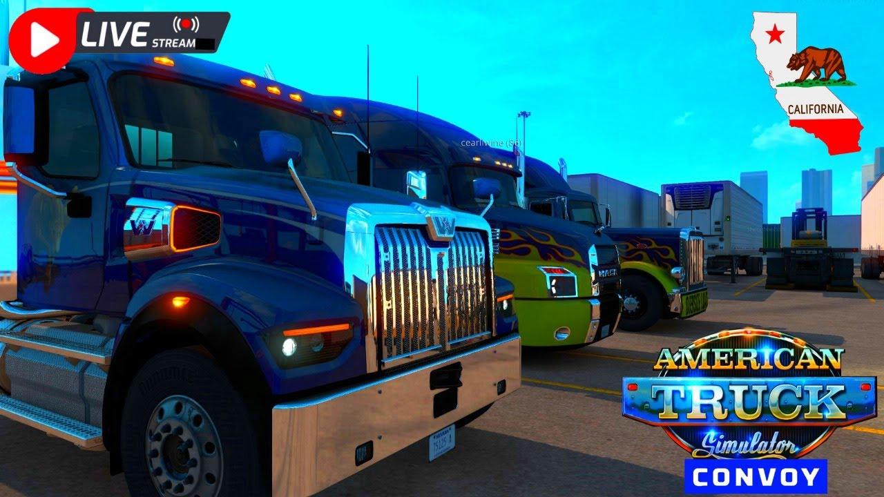 Ry Wilson - LIVE: 🚚American Truck Simulator CONVOY🚚 (Drivin' the California Coastline)