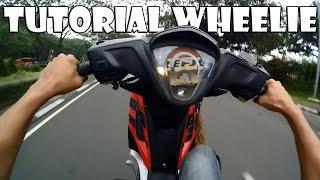 Tutorial Wheelie Motor Bebek No Kopling   Motovlog Indonesia