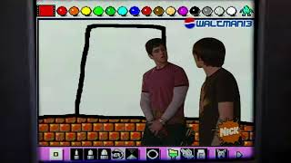 Drake and Josh try to escape Mario Paint
