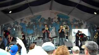 Shamarr Allen and Trombone Shorty - Midnight Disturbers 4/30/2011