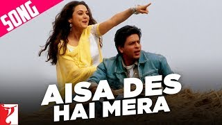 Aisa Des Hai Mera - Song   Veer-Zaara   Shah Rukh Khan   Preity Zinta