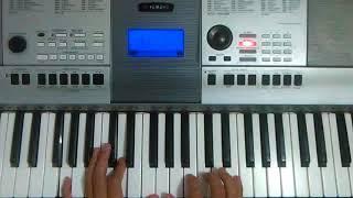 Melodía para ministrar al finalizar una predica (Tutorial piano)
