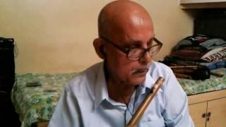 Patil flutist - Lag Ja Gale Ki Phir Ye Hasin Raat  Instrumental Cover on Flute by Balakrishna Patil