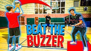 2HYPE BUZZER BEATER Basketball Challenge, I'll Buy You Dinner!