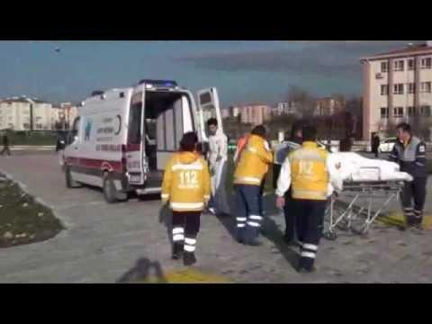 112 Hava Ambulansı ile Hastanemize hasta nakli gerçekleştirildi.