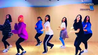 TWICE - What is Love? DANCE PRACTICE MIRRORED width=