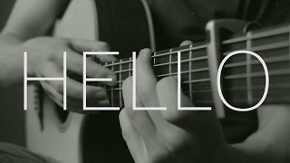 Adele - Hello - Fingerstyle Guitar Cover by James Bartholomew