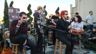 My Chemical Romance - Cancer (Live Acoustic at 98.7FM Penthouse)