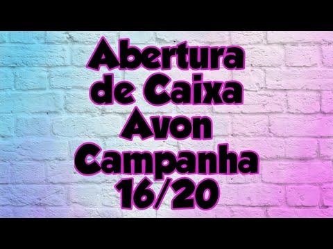 ABERTURA DE CAIXA AVON CAMPANHA 16/20