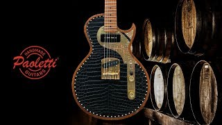 Paoletti Guitar Jr. Leather Series - Richard Fortus on Stage
