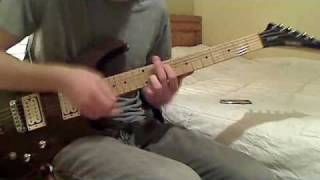Deftones - Be Quiet and Drive (far away) (guitar cover)