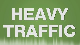 Heavy Traffic SOUND EFFECT - Starker Verkehr Autos City SOUNDS