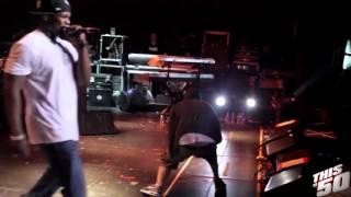 Eminem & 50 Cent - Till I Collapse Remix Live - 2012