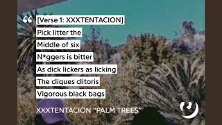 XXXTENTACION - Palm Trees (Lyrics)