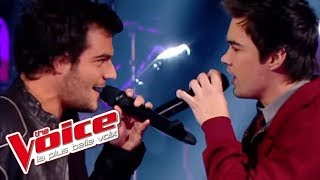 The Voice 2014│Amir Haddad VS François Lachance - Radioactive (Imagine Dragons)│Battle