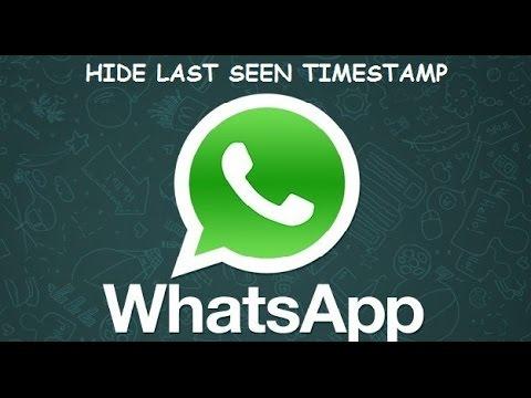 طريقة اخفاء اخر ظهور بالواتساب Last Seen Whatsapp