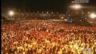 Queen & Anastacia - 'We Will Rock You' (Live In South Africa 2005)
