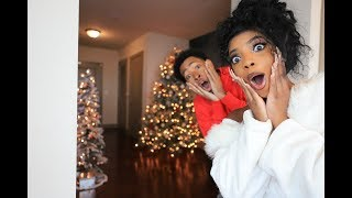 FINALLY REVEALING OUR CHRISTMAS DECORATED PENTHOUSE *SHOCKING* | VLOGMAS DAY 1