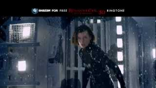 Resident Evil Retribution 3D Shazam for a free ringtone!