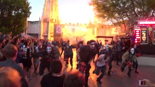 Halloween Horror Nights Opening Ceremony Front Row The Purge 2014 Universal Studios Hollywood HD