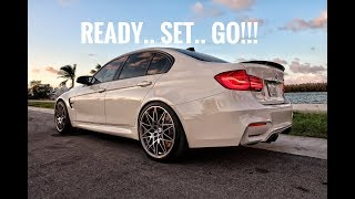How to use Launch Control on a BMW M3 (F80)