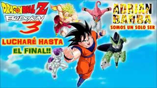 Opening de Dragon Ball Z Budokai 3 Latino (Adrian Barba) Letra