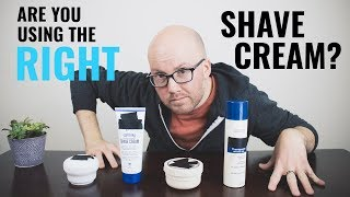 Shave Cream vs Soap vs Canned vs Latherless (Best Options For You!) width=
