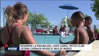 Reabren la Piscina del Yatch Club de Cape Coral
