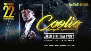 COOLIO LIVE SHOW IN WARSAW XOXO CLUB 22 APRIL 2017
