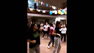 Zumba/ Flor do Reggae -Ivete Sangalo / Centro Artistisco Albicastrense