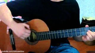 Mientras más pasaba el tiempo - Andres Cepeda (guitarra) como tocar