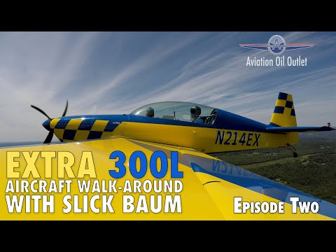 Extra 300L Aircraft walk-around with Slick Baum Episode 2 video