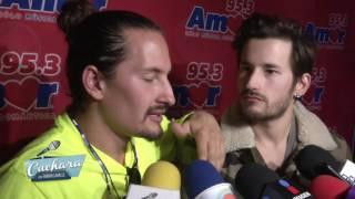 LA CUCHARA | MAU Y RICKY MONTANER nos dicen si tienen planes de cantar con su padre.