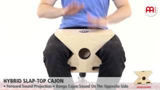 Hybrid Slap-Top Cajon - HTOPCAJ3NT