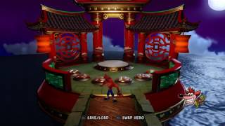 Crash Bandicoot N. Sane Trilogy: Warped - High Time Platinum Relic  (0:48:53)