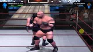 wwe smackdown HCTP goldberg perfect spear
